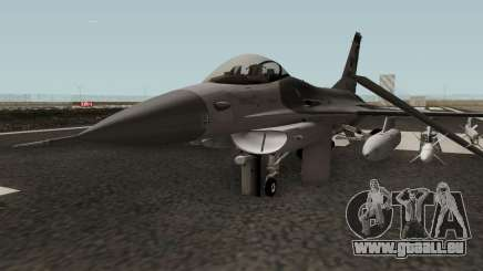 F-16C Fighting Falcon HQ pour GTA San Andreas