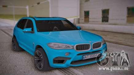 BMW X5M 2015 für GTA San Andreas