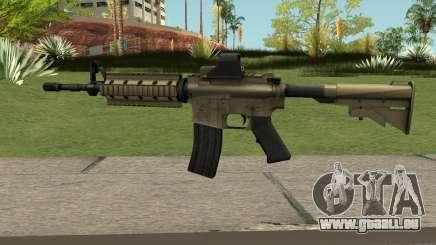M4A1 TAN pour GTA San Andreas