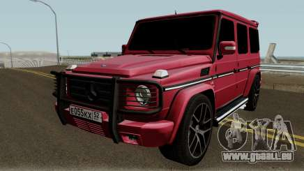 Mercedes-Benz G55 AMG High Quality pour GTA San Andreas