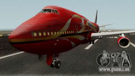 Boeing 747-400 Malaysia Airlines Hibiscus Livery pour GTA San Andreas