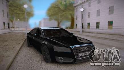 Audi S8L 2015 Black für GTA San Andreas