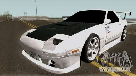 Mazda FC3S Re-Amemiya v1 Edited pour GTA San Andreas
