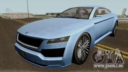 Ubermacht Revolter v.2 GTA V IVF pour GTA San Andreas