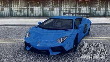 Lamborghini Aventador Stock pour GTA San Andreas
