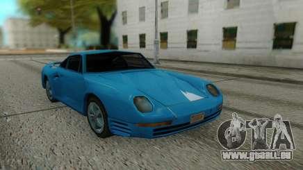 Porshe 959 87 Sastyle für GTA San Andreas