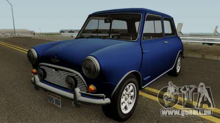 Austin Mini Cooper S Style Mr Bean v1.0 1965 für GTA San Andreas