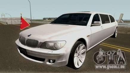 BMW 760Li E66 W12 Limousine pour GTA San Andreas