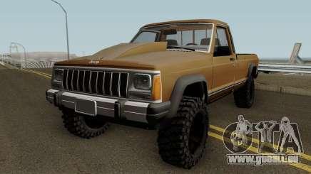 Jeep Comanche HQ pour GTA San Andreas