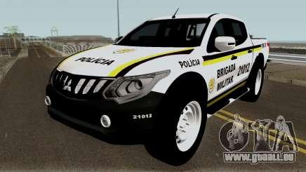 Mitsubishi Nova L-200 e Hilux da Brigada Militar pour GTA San Andreas
