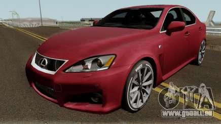Lexus IS-F 2013 für GTA San Andreas