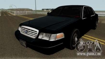 Ford Crown Victoria FBI 2003 pour GTA San Andreas