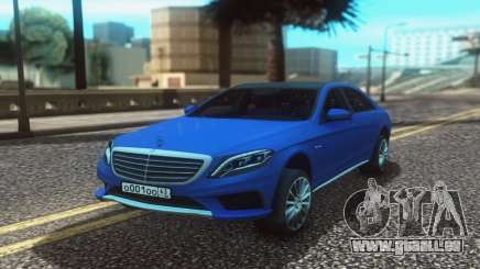 Mercedes-Benz W222 Stock für GTA San Andreas
