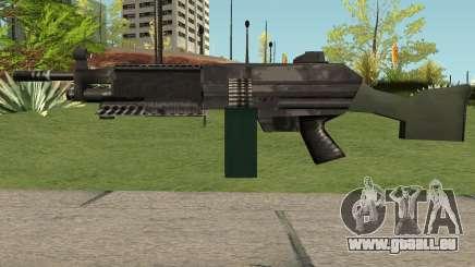 M249 Saw (SA Style) für GTA San Andreas