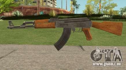 New AK47 HQ pour GTA San Andreas
