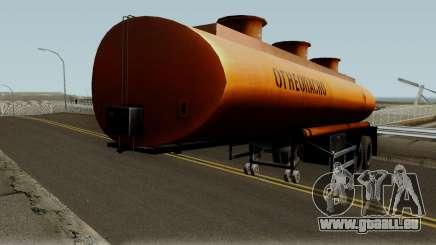 Remorque de réservoir de NefAZ pour GTA San Andreas