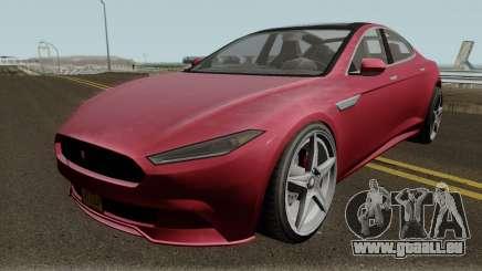 Coil Raiden GTA V IVF pour GTA San Andreas