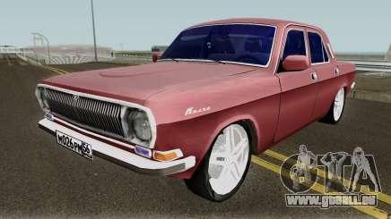 GAZ-24 Volga Standard Version pour GTA San Andreas