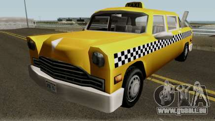 New Cabbie für GTA San Andreas