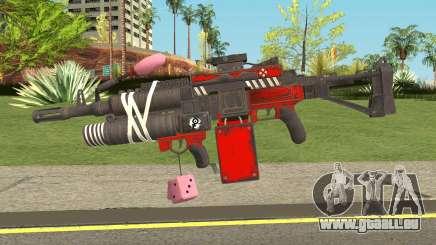 Harley Gun für GTA San Andreas