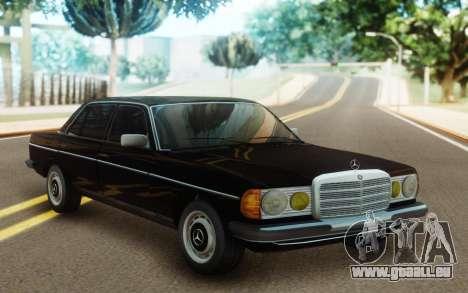 Mercedes-Benz 230 SL W 113 pour GTA San Andreas sur la vue arrière gauche