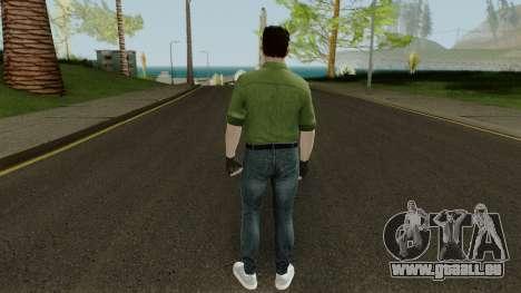 Random GTA: Online skin pour GTA San Andreas troisième écran