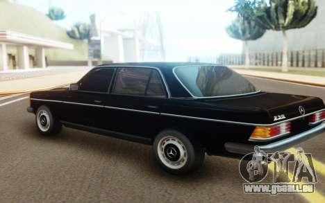 Mercedes-Benz 230 SL W 113 pour GTA San Andreas laissé vue