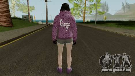 Skin DLC After Hours Female pour GTA San Andreas