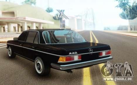 Mercedes-Benz 230 SL W 113 pour GTA San Andreas vue arrière