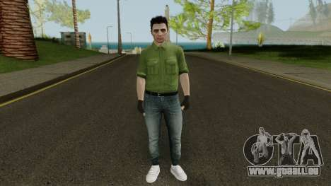 Random GTA: Online skin pour GTA San Andreas deuxième écran