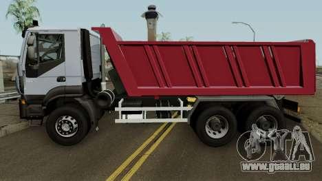 Iveco Trakker Dumper 6x4 für GTA San Andreas
