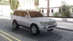 Toyota Land Cruiser 105 White für GTA San Andreas