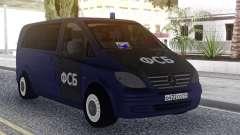 Mercedes Benz Vito FSB für GTA San Andreas