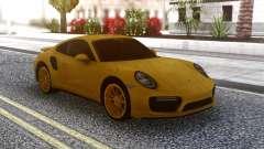 Porsche 911 Yellow pour GTA San Andreas