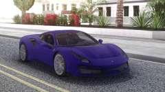 Ferrari 488 Pista 2019 new pour GTA San Andreas