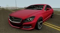 Mercedes Benz CLS63 AMG Vossen VVS-CV5 2012 pour GTA San Andreas