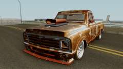 Chevrolet C-10 Custom Pickup Beater 1967 pour GTA San Andreas