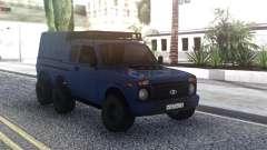 Niva Urban 6x6 für GTA San Andreas