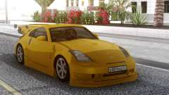 Nissan 350Z Yellow Tuning pour GTA San Andreas