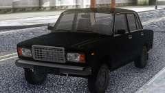 VAZ 2107 Noir en Stock pour GTA San Andreas