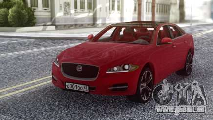Jaguar XJ 2010 Red pour GTA San Andreas