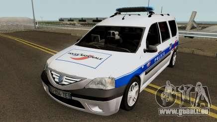 Dacia Logan MCV - Police Nationale 2004 pour GTA San Andreas