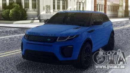 Land Rover Range Rover Evoque Blue für GTA San Andreas