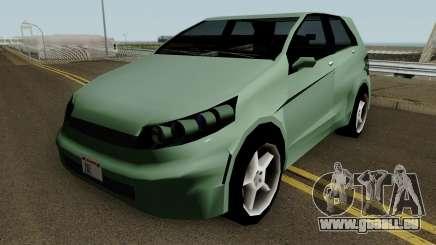 Honda Brio (SA Style) für GTA San Andreas