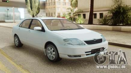 Toyota Corolla Sedan 2001 pour GTA San Andreas
