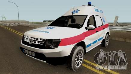 Dacia Duster Ambulanta 2018 für GTA San Andreas
