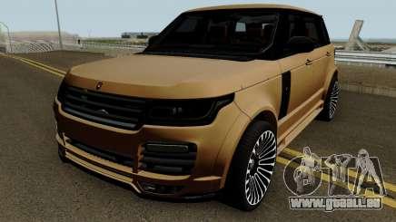 Range Rover Mansory Autobiography LWB pour GTA San Andreas