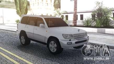 Toyota Land Cruiser 105 White pour GTA San Andreas