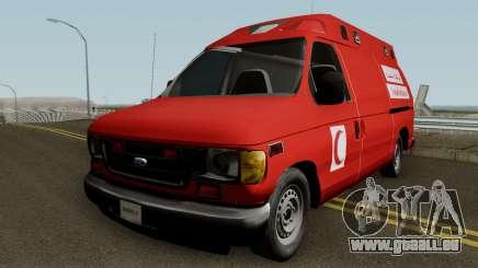 Ford E-150 Ambulan Moroccain pour GTA San Andreas