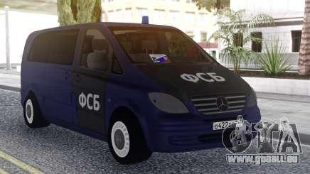 Mercedes Benz Vito FSB pour GTA San Andreas